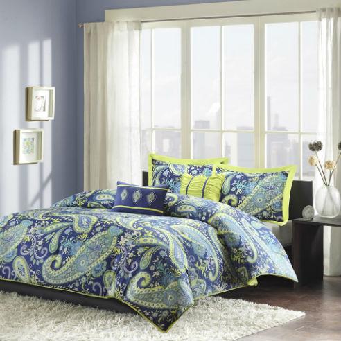 Melissa Blue By Intelligent Design Beddingsuperstore Com