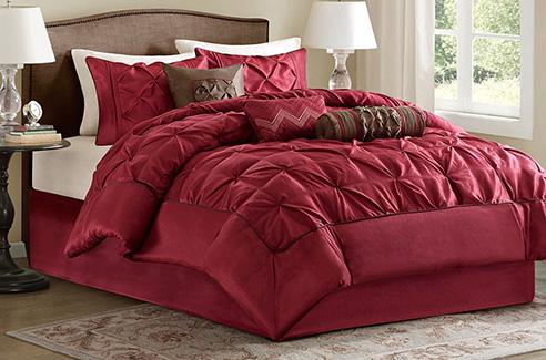 Laurel Red By Madison Park Beddingsuperstore Com