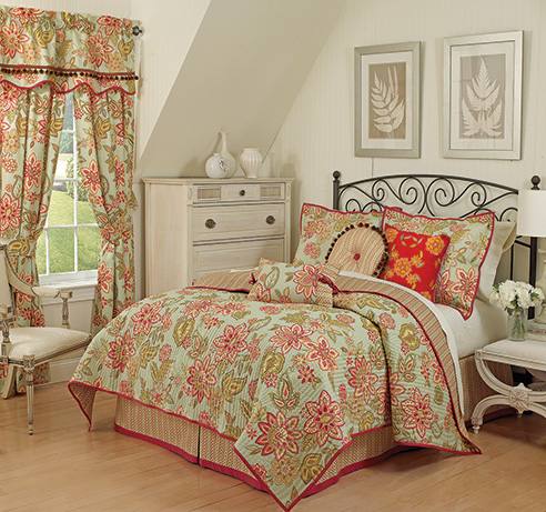 Charismatic Honeysuckle By Waverly Bedding