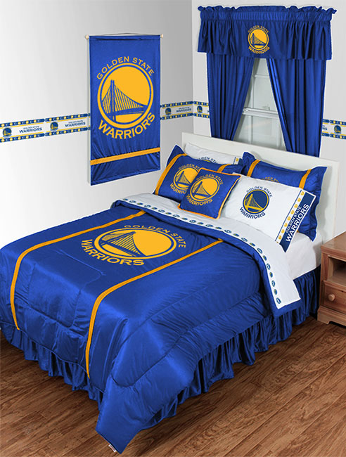 Golden State Warriors Nba Sidelines Collection By Sports Coverage Beddingsuperstore Com