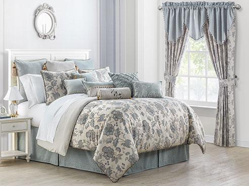 Bedroom Purple Bed
