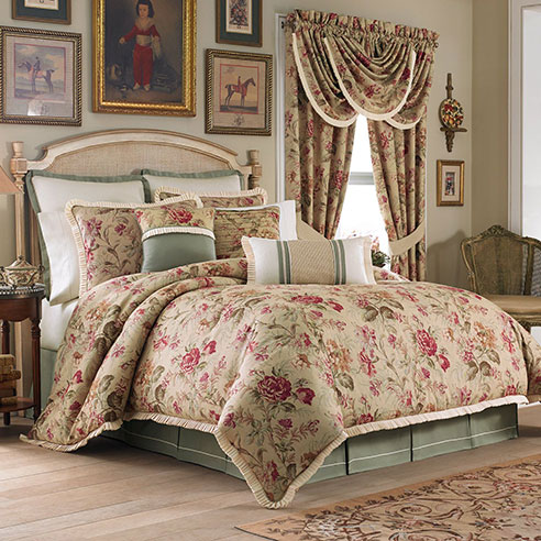 Cottage Rose By Croscill Home Fashions Beddingsuperstore Com