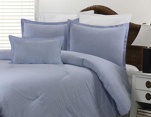 Seersucker Blue By Victor Mill Beddingsuperstore Com
