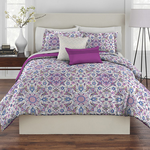 Rhapsody Ibiza Purple By Westpoint Home Bedding Collection
