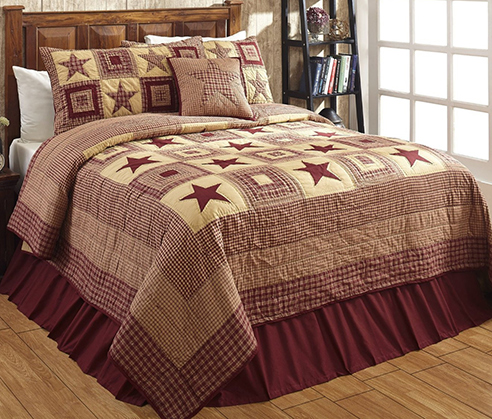 Colonial Burgundy Amp Tan By Olivias Heartland Quilts