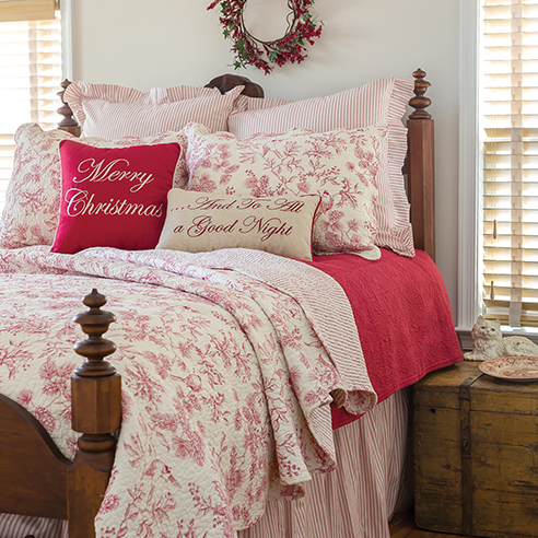 Evergreen Toile By C Amp F Quilts Beddingsuperstore Com