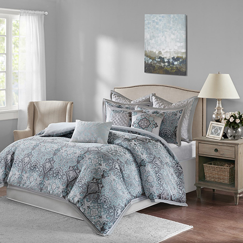 Norton Grey By Bombay Bedding Beddingsuperstore Com