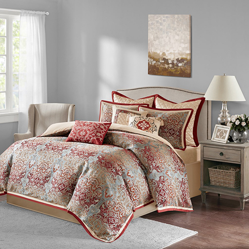 Norton Red By Bombay Bedding Beddingsuperstore Com