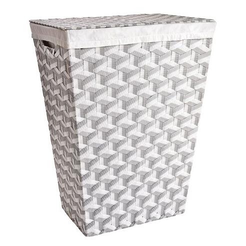Rad Hamper Grey White By Lamont Home Beddingsuperstore Com