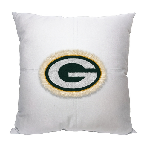 Green Bay Packers Letterman Pillow Beddingsuperstore Com