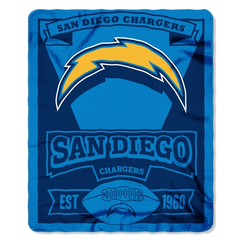 San Diego Chargers Marquee Throw Beddingsuperstore Com