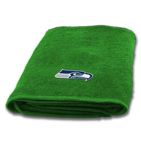 Seattle Seahawks Applique Bath Towel Beddingsuperstore Com