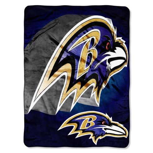 Baltimore Ravens Bevel Micro Blanket Beddingsuperstore Com