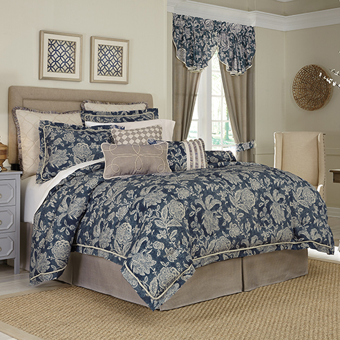 Gavin by croscill home fashions for Designer linens and home fashions
