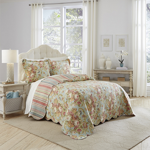 Spring Bling Bedspread By Waverly Bedding Collection