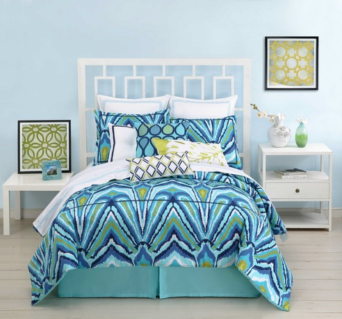 Blue Peacock By Trina Turk Bedding Beddingsuperstore Com