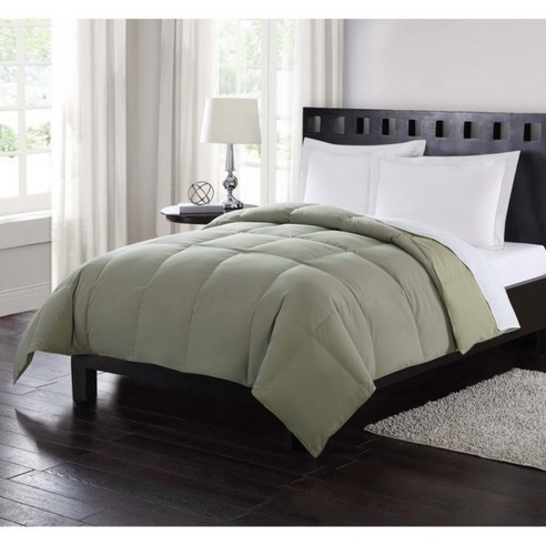 Down Reversible Comforter Sage By London Fog Bedding