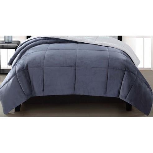 Supreme Luster Velvet Comforter By London Fog Bedding