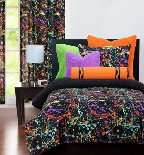 Neon Splat By Crayola Bedding Beddingsuperstore Com