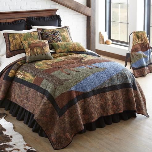 Moose River By Donna Sharp Quilts Beddingsuperstore Com