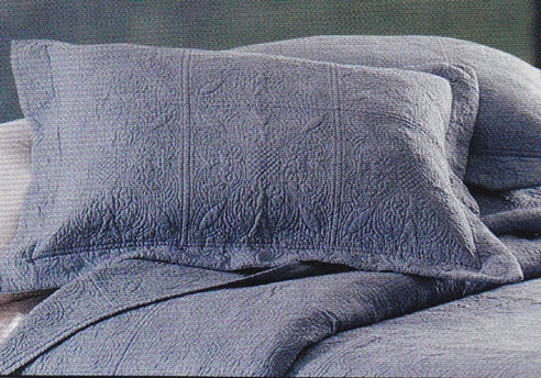 Matelasse Quilted Colonial Blue By C Amp F Quilts