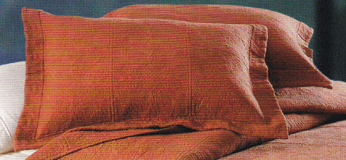 Matelasse Quilted Terra Cotta By C Amp F Quilts