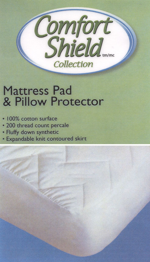 Comfort Shield Cotton Mattress Amp Pillow Protectors By Cd