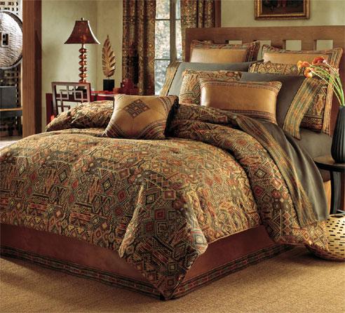 Appealing Purple Tan Bedroom