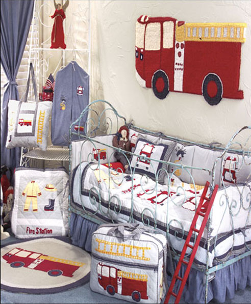 Fire Truck By Patchmagic Quilts Beddingsuperstore Com