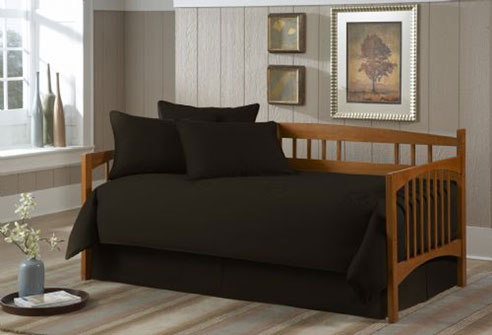Solid Black By Southern Textiles Daybeds