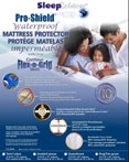 Pro-Shield Terry Water Proof Mattress Protector With P.U. Backing