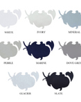 Percale Deluxe Solids 220 Thread Count Sheets, Duvet Covers & Accessories by CD Bedding Company by CD Bedding of CA