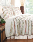 Bella Ruffle by Greenland Home Fashions by by Greenland Home Fashions