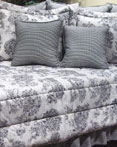 Toile Black by Wilk Textiles