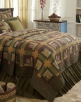 Tea Cabin  by VHC Brands Quilts