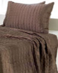 Cocoa Shimmer Quilt by Rizzy Home Bedding