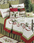 Holiday Garland by C&F Quilts