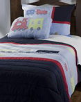Trains by Rizzy Home Bedding