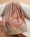 Mandale Throw Blanket 100% Cashmere by Lanerossi