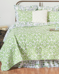 Boxwood Abbey by C&F Quilts