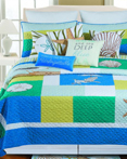 Blue Oasis by C&F Quilts