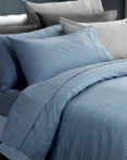Monaco Ash & Blue by Daniadown Bedding
