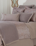 Yvette Driftwood by St. Geneve Luxury Bedding