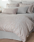 Yvette Grey by St. Geneve Luxury Bedding