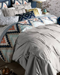 Harper Grey  by Blissliving Home Bedding