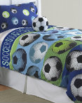 Soccer Blue by Hallmart Collection