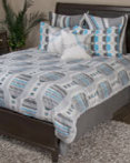 Motion Gray by Rizzy Home Bedding