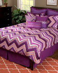 Hippie Chic Plum by Rizzy Home Bedding