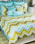 Hippie Chic Teal by Rizzy Home Bedding