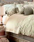 Floreale - Verde by St. Geneve Luxury Bedding